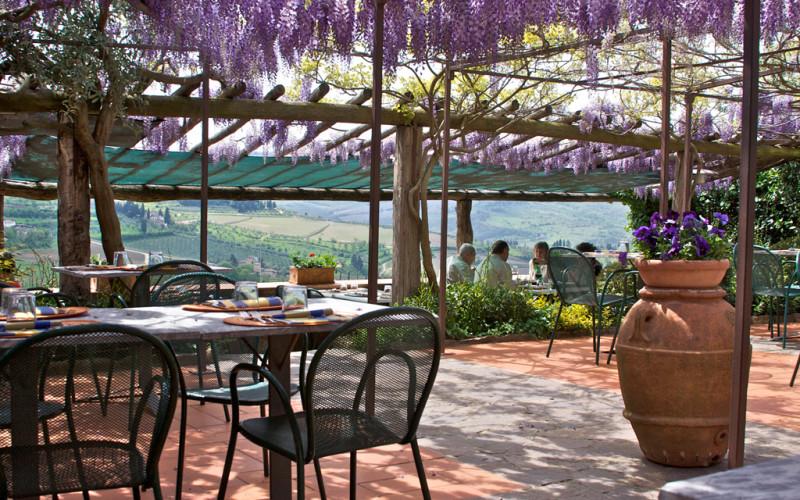 Hostaria oltre il giardino ristoranti chianti for Oltre il giardino